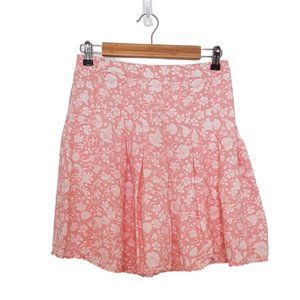 2/$20 - Pink Floral Old Navy Mini Skirt